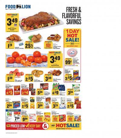 Food Lion (DE) Weekly Ad Flyer April 7 to April 13