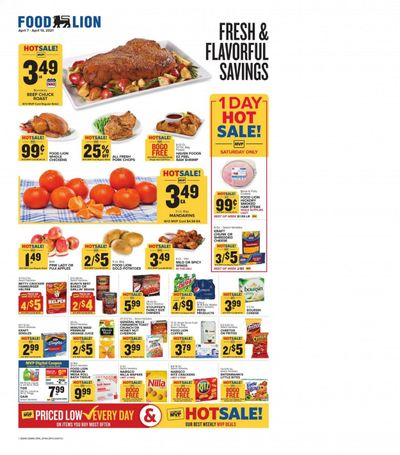 Food Lion (PA) Weekly Ad Flyer April 7 to April 13