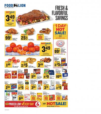 Food Lion (SC) Weekly Ad Flyer April 7 to April 13