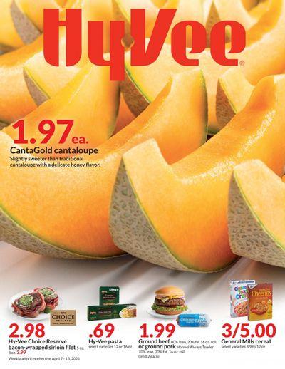 Hy-Vee (IA, IL, KS, MN, MO, NE, SD, WI) Weekly Ad Flyer April 7 to April 13