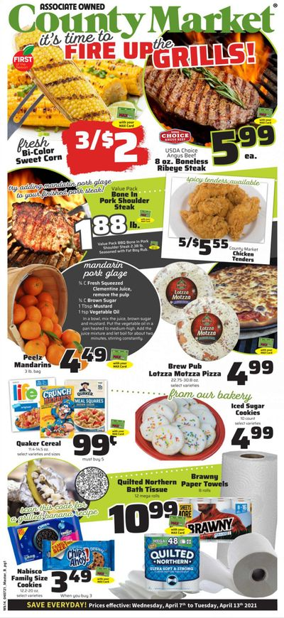 County Market Weekly Ad Flyer April 7 to April 13