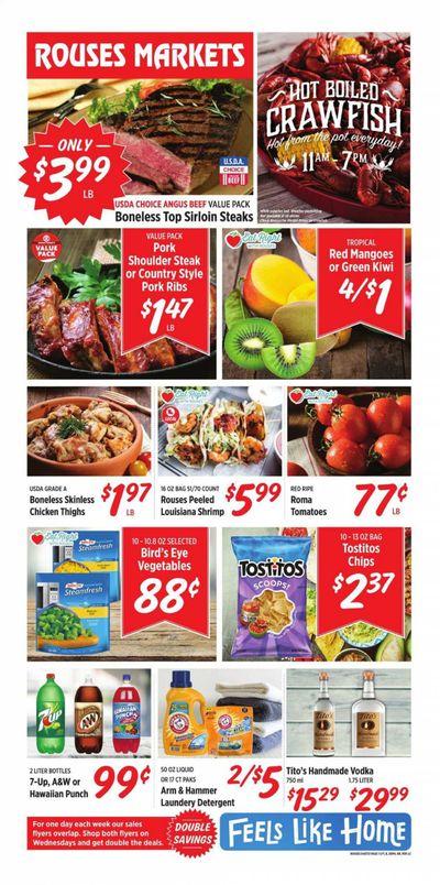 Rouses Markets (AL, LA, MS) Weekly Ad Flyer April 7 to April 14