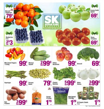 Super King Markets (CA) Weekly Ad Flyer April 7 to April 13