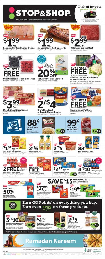 Stop & Shop (MA) Weekly Ad Flyer April 9 to April 15