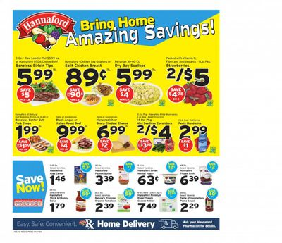 Hannaford (ME) Weekly Ad Flyer April 11 to April 17