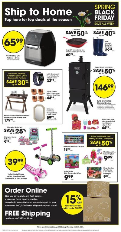 Ralphs (DC, DE, FL, GA, MD, NC, SC, VA) Weekly Ad Flyer April 14 to April 20