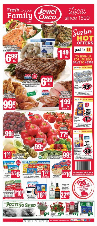 Jewel Osco (IN) Weekly Ad Flyer April 14 to April 20