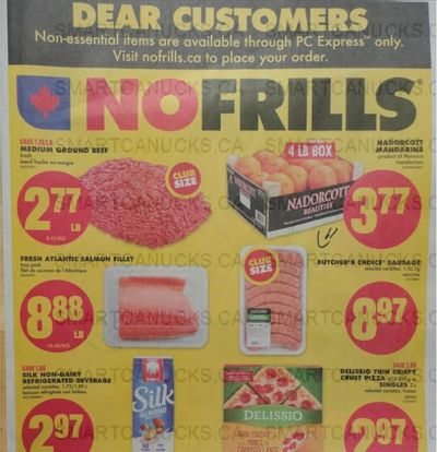 Ontario Flyer Sneak Peeks: No Frills & Food Basics April 15th – 21st
