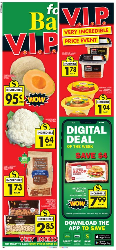 Food Basics Flyer April 15 to 21