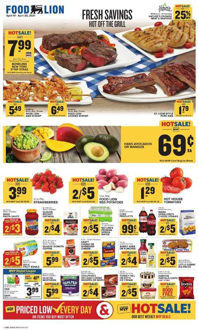 Food Lion (MD) Weekly Ad Flyer April 14 to April 20