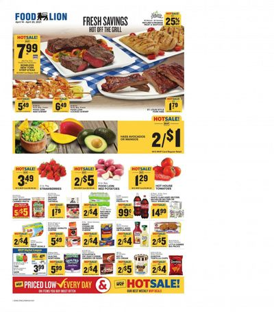 Food Lion (VA) Weekly Ad Flyer April 14 to April 20