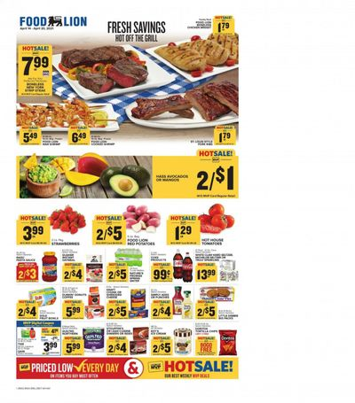 Food Lion (NC) Weekly Ad Flyer April 14 to April 20