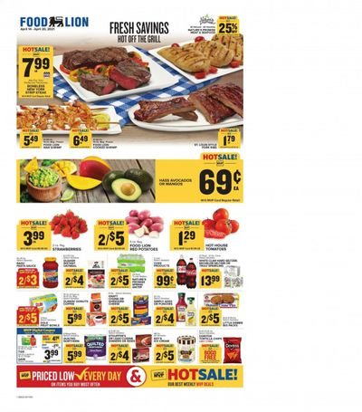 Food Lion (SC) Weekly Ad Flyer April 14 to April 20