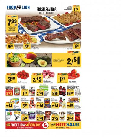 Food Lion (TN) Weekly Ad Flyer April 14 to April 20