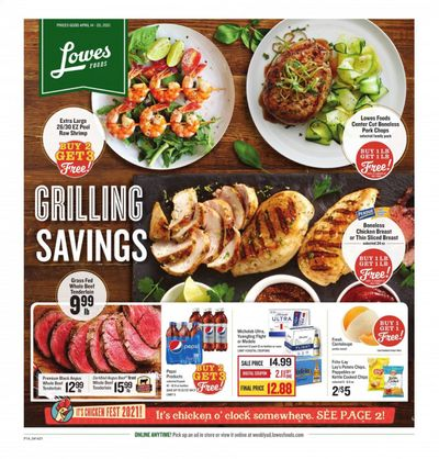 Lowes Foods Weekly Ad Flyer April 14 to April 20