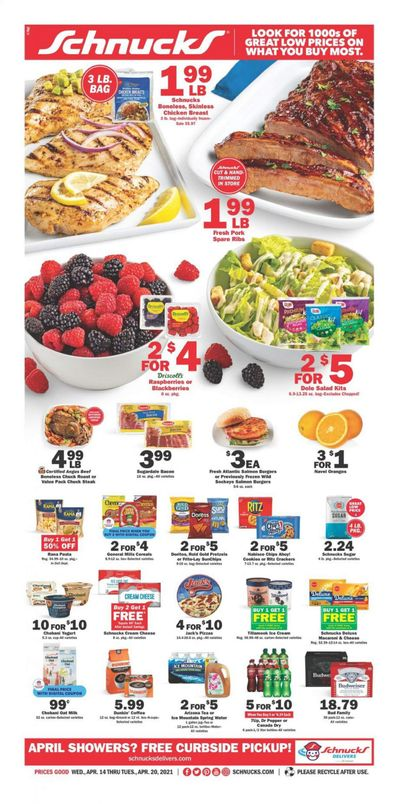 Schnucks (IA, IL, IN, MO, WI) Weekly Ad Flyer April 14 to April 20