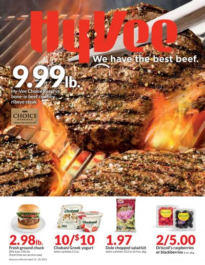 Hy-Vee (IA, IL, KS, MO) Weekly Ad Flyer April 14 to April 20
