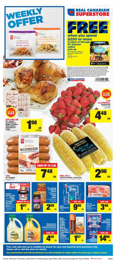 Real Canadian Superstore (ON) Flyer April 22 to 28