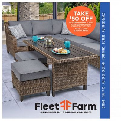 Fleet Farm Weekly Ad Flyer April 23 to June 10