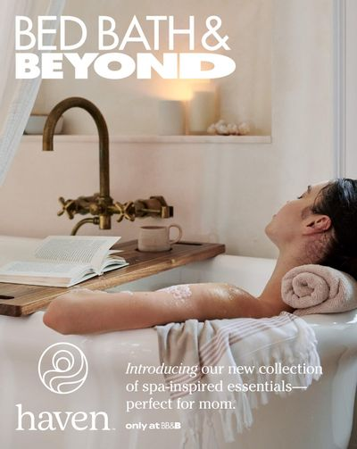 Bed Bath & Beyond Flyer April 26 to May 9