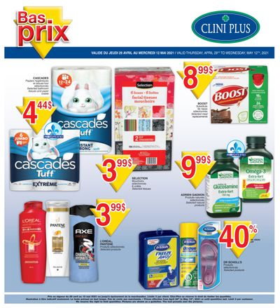 Clini Plus Flyer April 29 to May 12