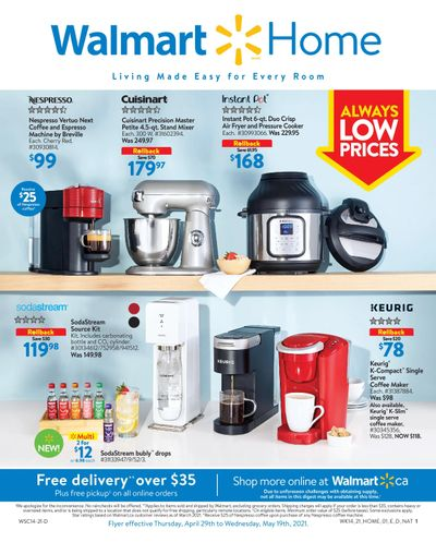 Walmart Home Book April 29 to May 19