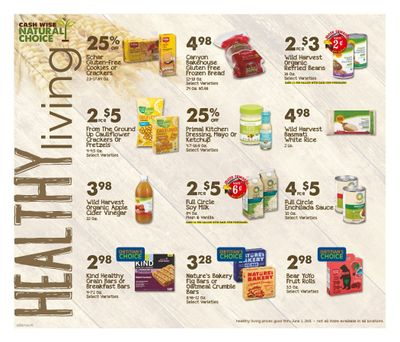 Cash Wise (MN, ND) Weekly Ad Flyer April 25 to June 1