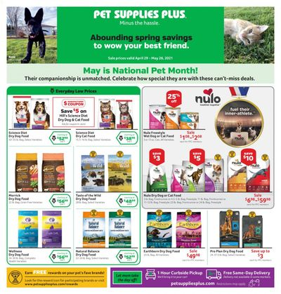 Pet Supplies Plus Weekly Ad Flyer April 29 to May 26