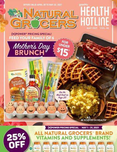 Natural Grocers Weekly Ad Flyer April 30 to May 22
