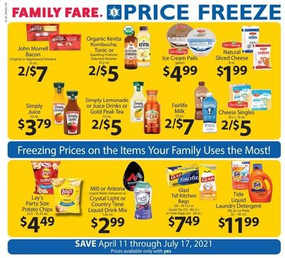 Family Fare Weekly Ad Flyer April 11 to July 17