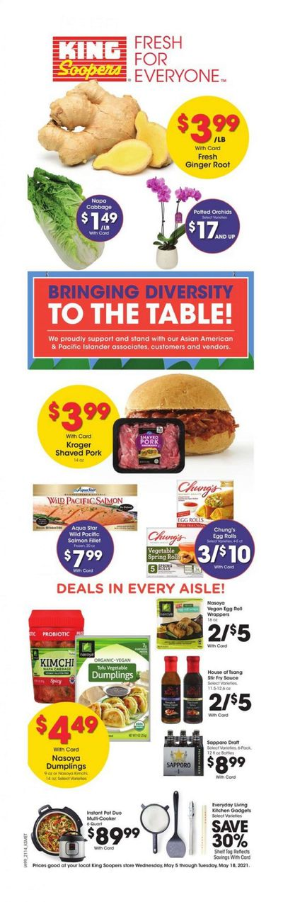 King Soopers (CO) Weekly Ad Flyer May 5 to May 18