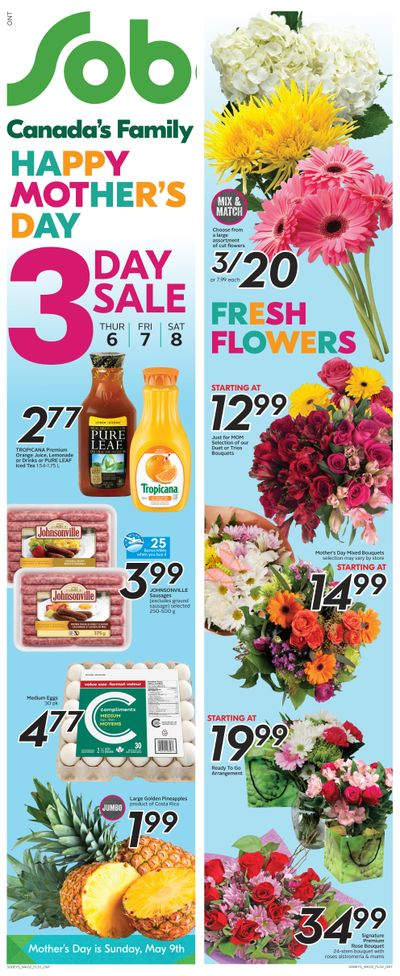 Sobeys (ON) Flyer May 6 to 12