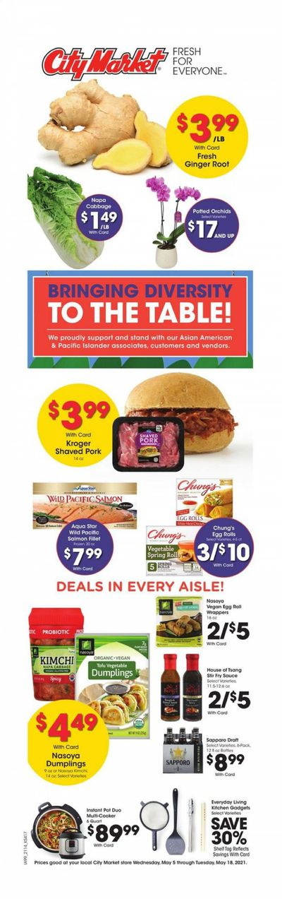 City Market (CO, UT, WY) Weekly Ad Flyer May 5 to May 18
