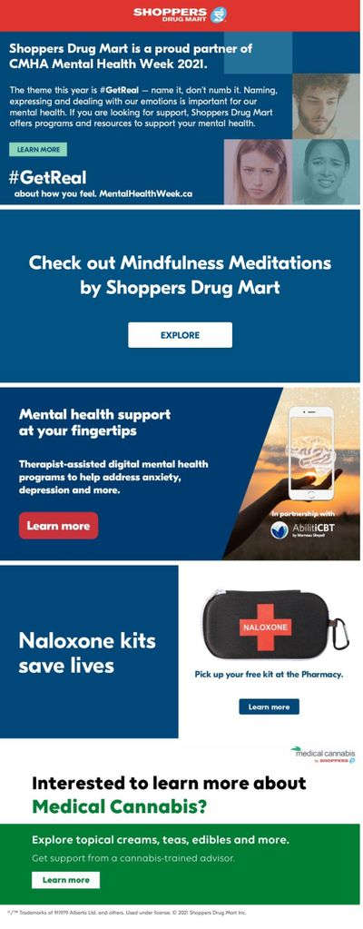 Shoppers Drug Mart (ON) Flyer May 8 to 14