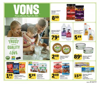 Vons (CA) Weekly Ad Flyer May 5 to May 25