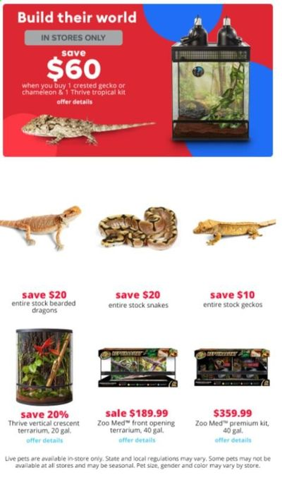 PetSmart Weekly Ad Flyer May 3 to June 6