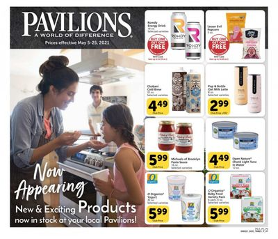 Pavilions (CA) Weekly Ad Flyer May 5 to May 25