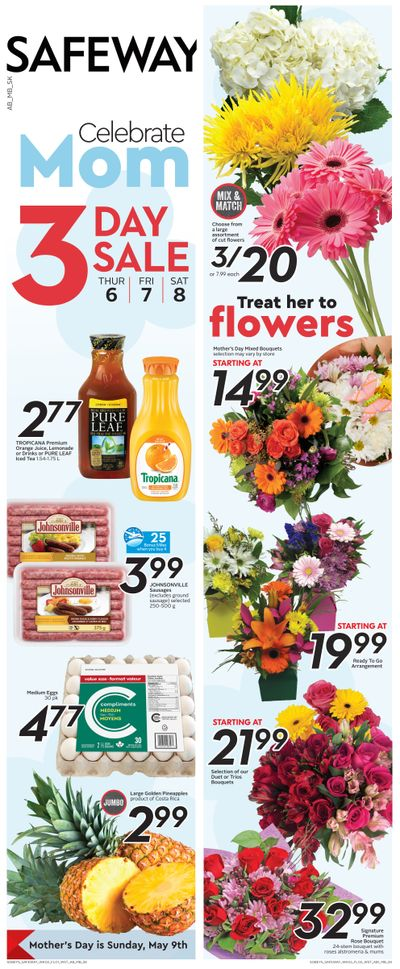 Sobeys (SK & MB) Flyer May 6 to 12