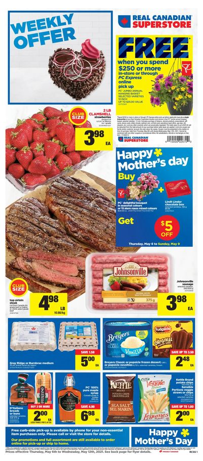 Real Canadian Superstore (ON) Flyer May 6 to 12