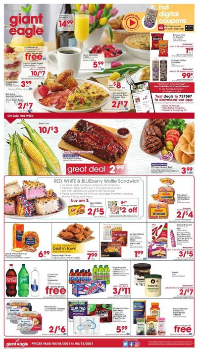 Giant Eagle (OH, PA) Weekly Ad Flyer May 6 to May 12