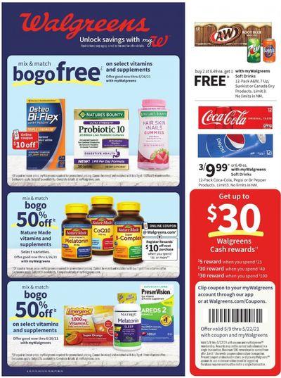 Walgreens Weekly Ad Flyer May 9 to May 15