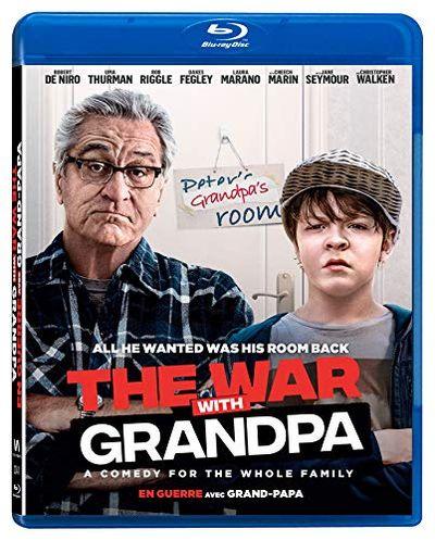 WAR WITH GRANDPA (En guerre avec grand-papa) [Blu-ray] (Bilingual) $18.48 (Reg $20.84)