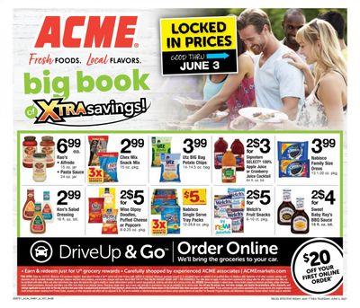 ACME (DE, NJ, NY, PA) Weekly Ad Flyer May 7 to June 3