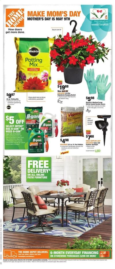 The Home Depot Weekly Ad Flyer May 6 to May 12