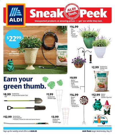 ALDI (IN, OH, TX) Weekly Ad Flyer May 12 to May 18