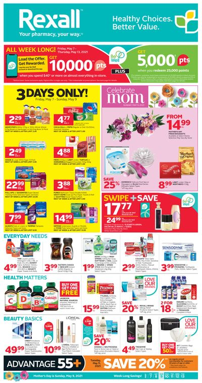 Rexall (West) Flyer May 7 to 13