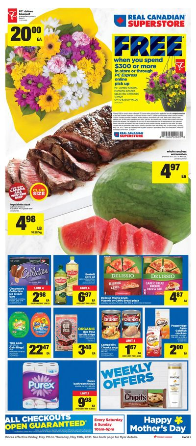 Real Canadian Superstore (West) Flyer May 7 to 13