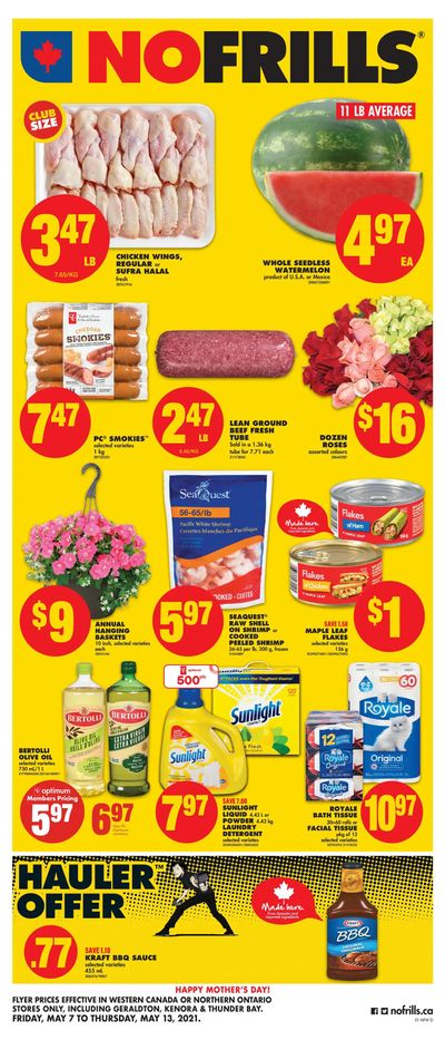 No Frills (West) Flyer May 7 to 13