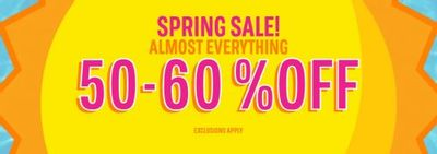 The Children's Place Canada Spring Sale: Save 50% – 60% OFF Everything + FREE Shipping + More