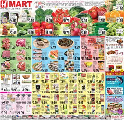 Hmart Weekly Ad Flyer May 7 to May 13